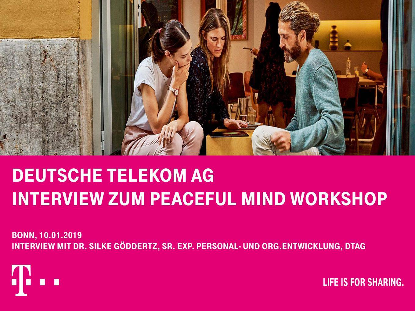 Peaceful Mind Workshop Dt Telekom1