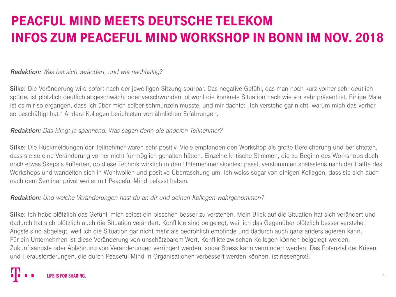 Peaceful Mind Workshop Dt Telekom4